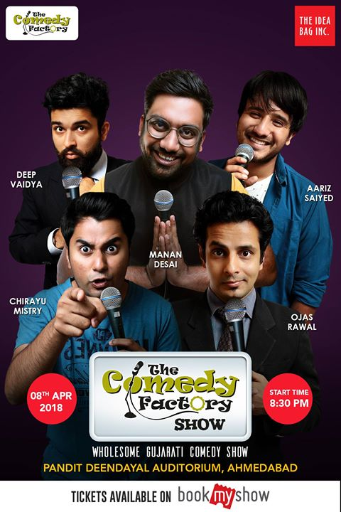 Our Wholesome Gujarati Comedy Show on 8th April in Ahmedabad. Madness guaranteed.  Tickets available here --->> https://goo.gl/b6QnFA  Tag your Amdavadi friends if you have friends.