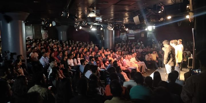 What a Show!!!! The Comedy Factory got a Standing ovation yesterday in a Sold Out Show. Best show of this tour, without a doubt. Thank You everyone who came yesterday in Mumbai and also who have attended this show Before, anywhere in the world. Thank You So Much.