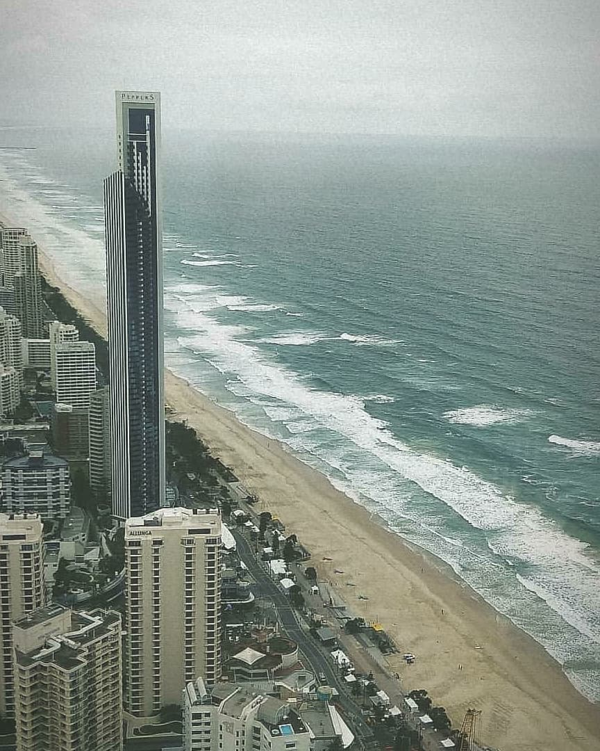 Australia Day 1 - Gold coast has been so far so good. Visited Q1 today.