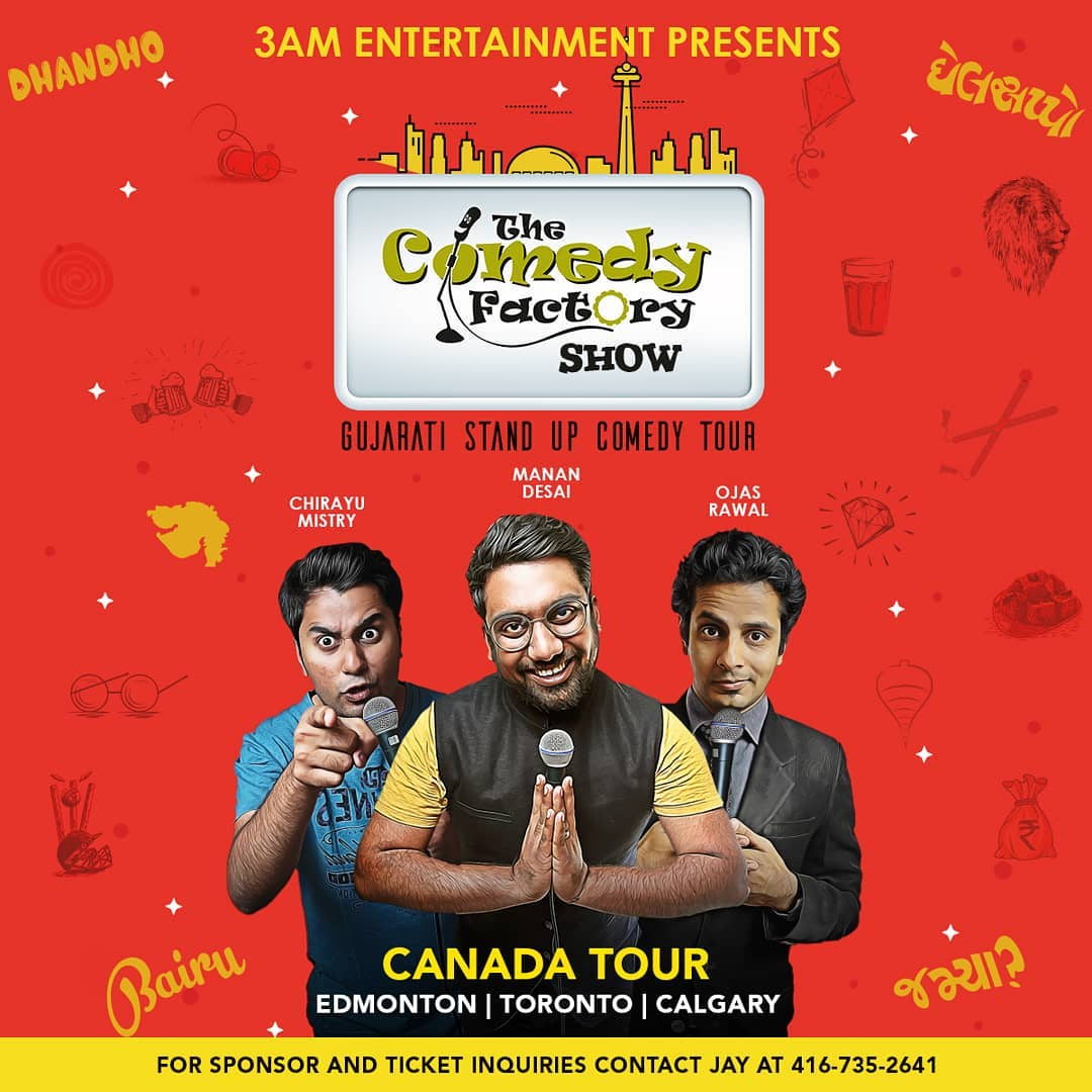 CANADA SHOWS 25th May - Edmonton 26th May - Toronto 27th May - Calgary  Tickets on www.tickethungama.com Or call on 4167352641.