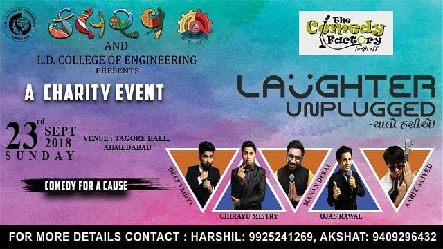 23rd Sept - Ahmedabad Tickets on allevents.in