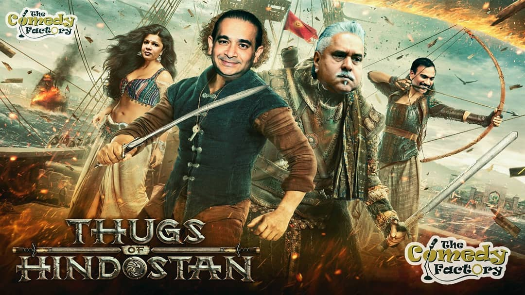 Who do you think is the Original Thug of Hindostan?? #thugsofhindostan #thecomedyfactory