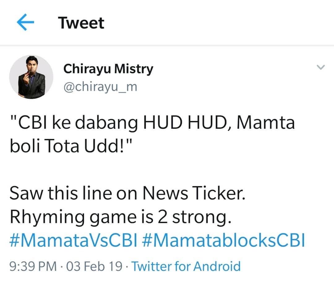 This is why i love Indian News Channels. #MistryTweets