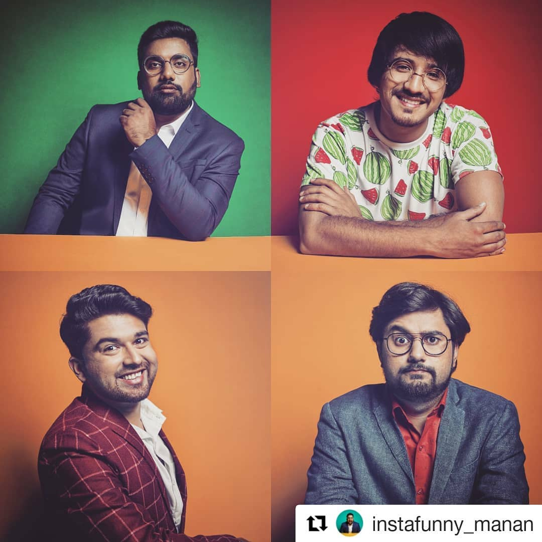#Repost @instafunny_manan  LINK IN BIO The 4 of us are in Melbourne and Sydney on Friday and Saturday. Performing brand new material with a powerpacked show of 2 hours. Tickets on www.starallianceentertainment.com