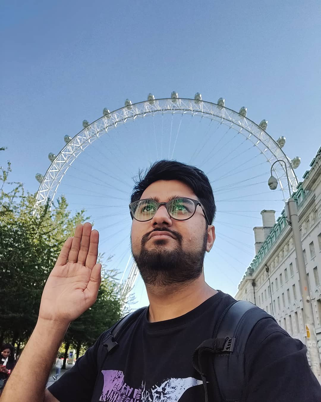 Aham Pakdaasmi  #travel #comic #london #comedian #travelgram #uk