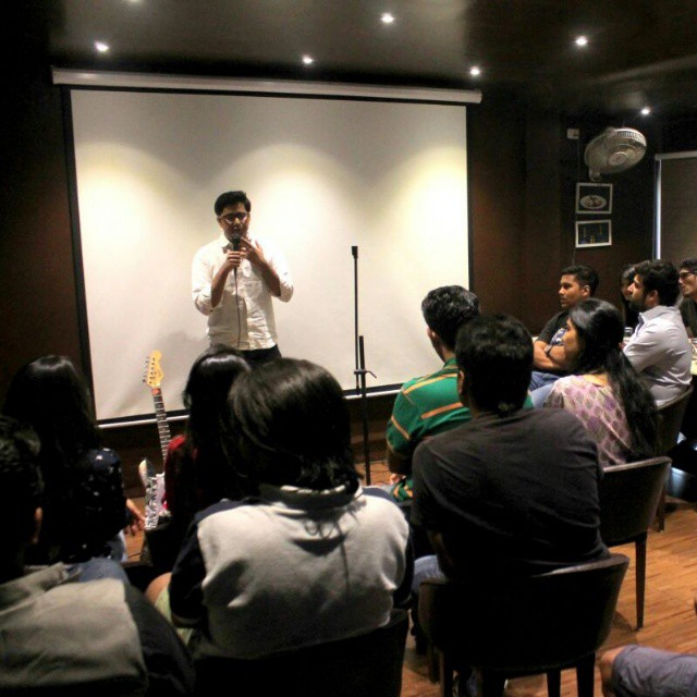 Chirayu Mistry,  nofilter, OffsideLounge, openmic, thecomedyfactory, Vadodara