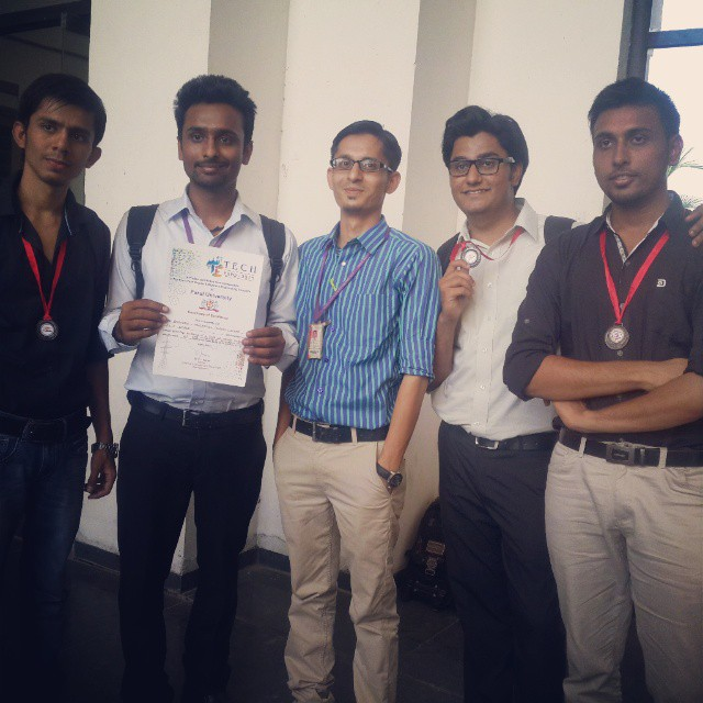 Project wala group....with Mohsin sir #College_ke_Pal