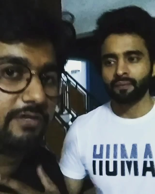 Throwback to when i directed a sketch with @jackkybhagnani. He appreciated a true artist and a gem, i.e. Me. #MITRON is out now on @primevideoin . Do Watch it.
