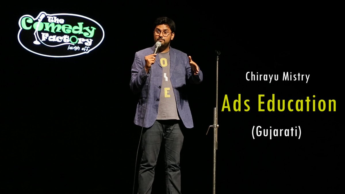 New Gujarati Standup Video is live now. Watch it here --->> https://t.co/xyT0aTC665 https://t.co/kA3l8rQXzf