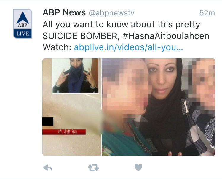 RT @kitAnurag: Pretty suicide bomber https://t.co/PXQbQ2EIyi
